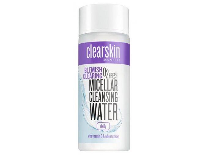 Avon Čisticí micelární pleťová voda s vitaminem E a výtažkem z pšenice 200ml