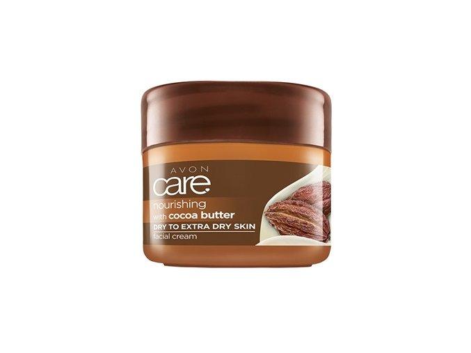 Avon Vyživující pleťový krém s kakaovým máslem 100ml