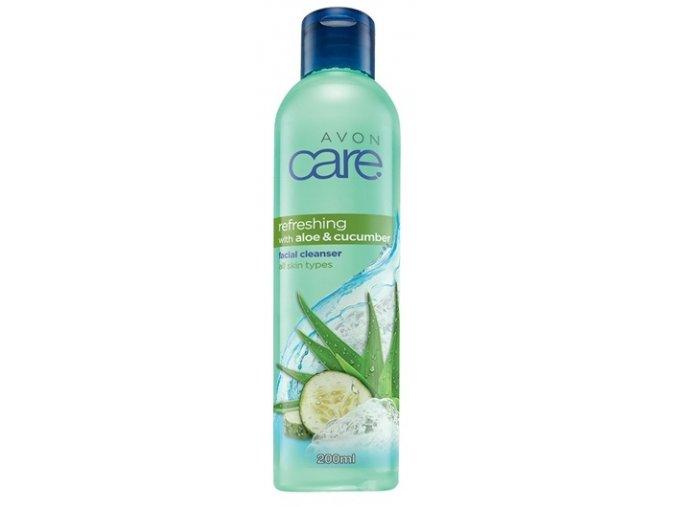 Avon Osvěžující čisticí pleťový gel s aloe a výtažkem z okurky 200ml
