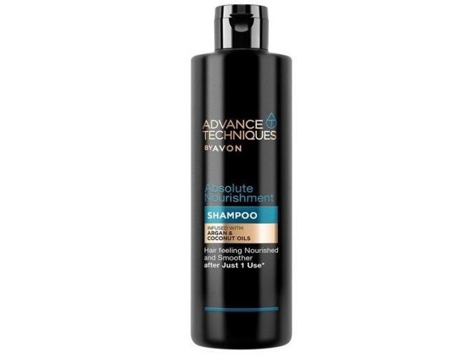Avon Vyživující šampon s arganovým a kokosovým olejem 250ml