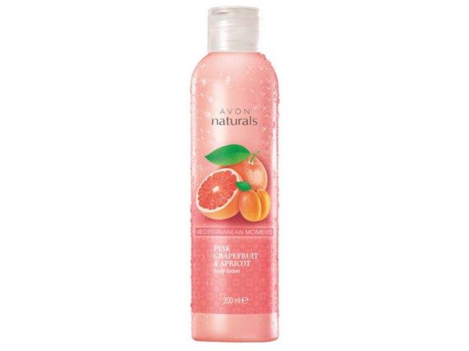 Avon Tělové mléko s vůní grapefruitu a meruňky 200ml
