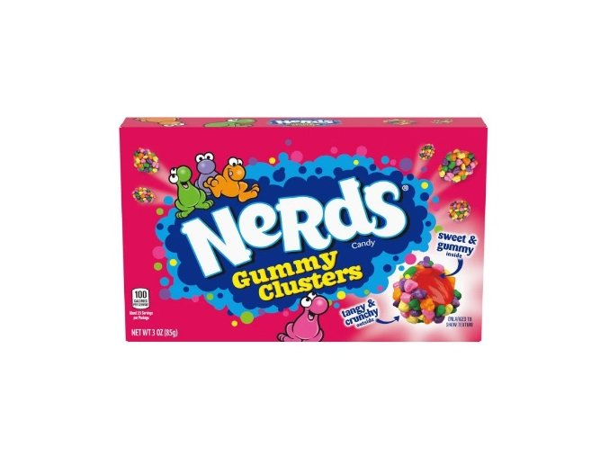 Nerds Gummy Clusters 85g