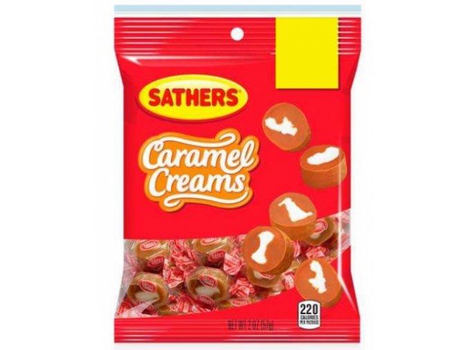 Sathers Caramel Creams 57g
