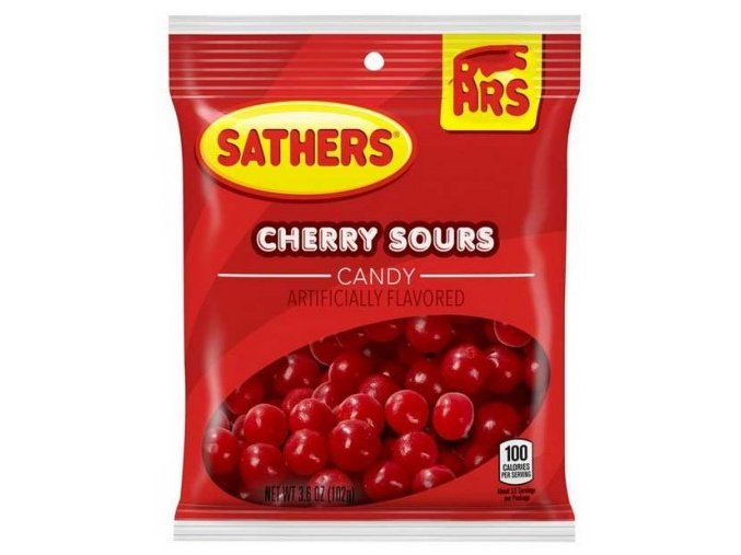 Sathers Cherry Sours 102g