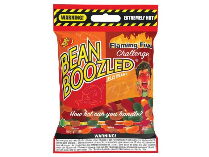 Jelly Belly Jelly Beans BeanBoozled Flaming Five 54g
