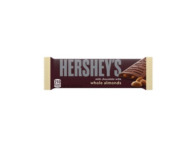 Hershey's Milk Chocolate With Whole Almonds 41g