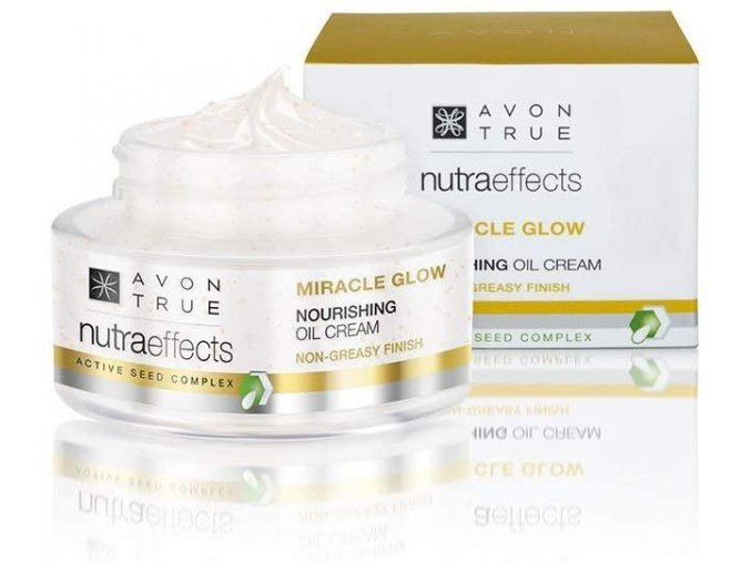 Avon True NutraEffects rozjasňující krém s vyživujícím účinkem 50ml