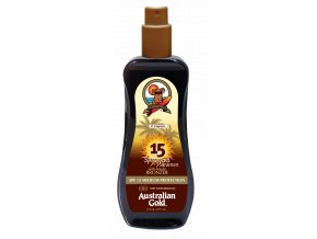 Australian Gold SPF 15 Spray Gel Bronzer 237ml