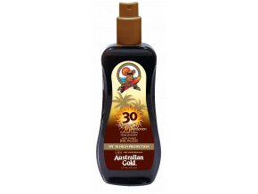Australian Gold SPF 30 Spray Gel Bronzer 237ml