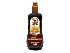 Australian Gold Dark Tanning Accelerator Spray Gel Bronzer 237ml
