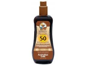 Australian Gold SPF 50 Spray Gel Bronzer 237ml
