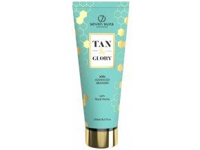seven suns cosmetics tan glory bronzer 250ml