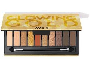 Avon Paletka očních stínů Glowing Gold 17g 1