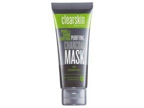 Avon Čisticí pleťová maska s výtažkem z černého uhlí 75ml