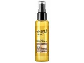 Avon Vyživující olej na vlasy s arganovým a kokosovým olejem 100ml