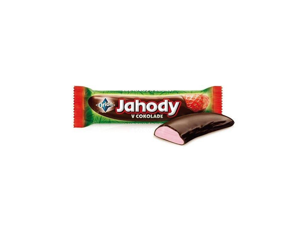 Jahody v čokoládě 45g