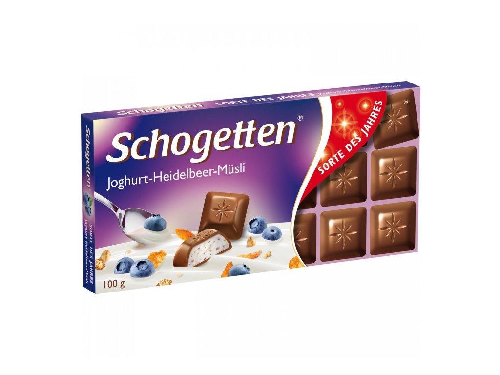 Schogetten 100g Yoghurt-Blueberry-Musli