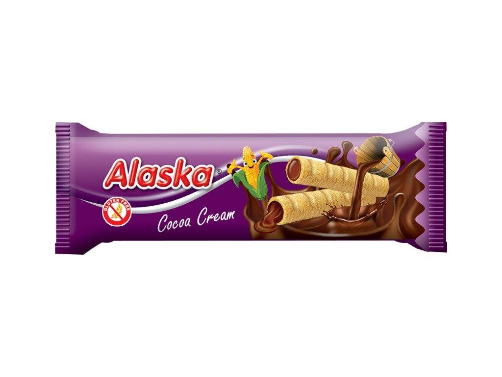 Alaska Trubičky 18g Kakao