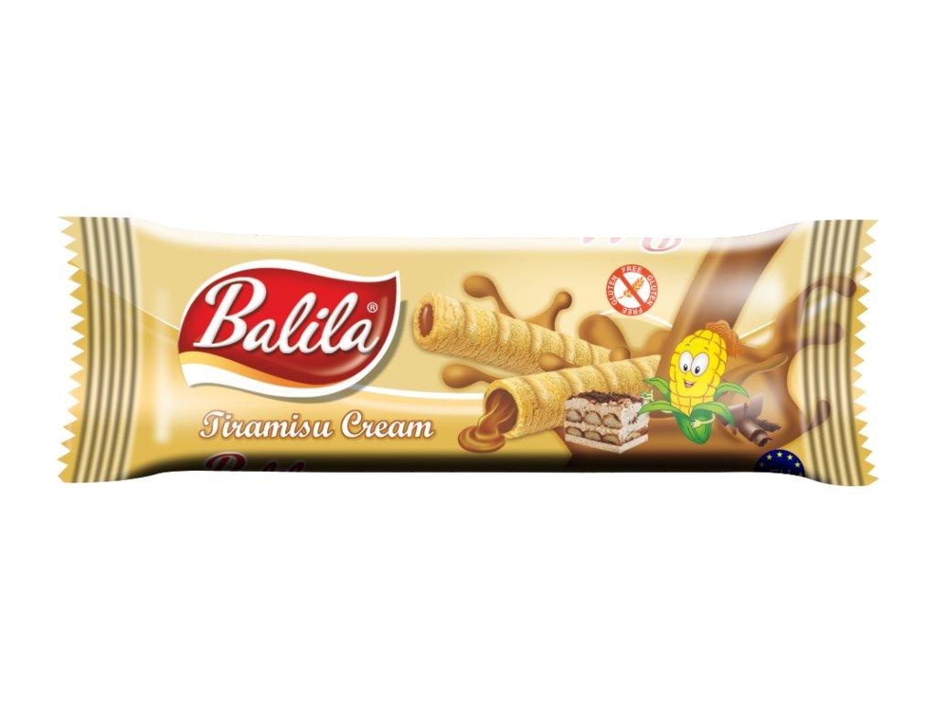BALILA kukuřičná trub.s krémem s příchutí tiramisu 18g