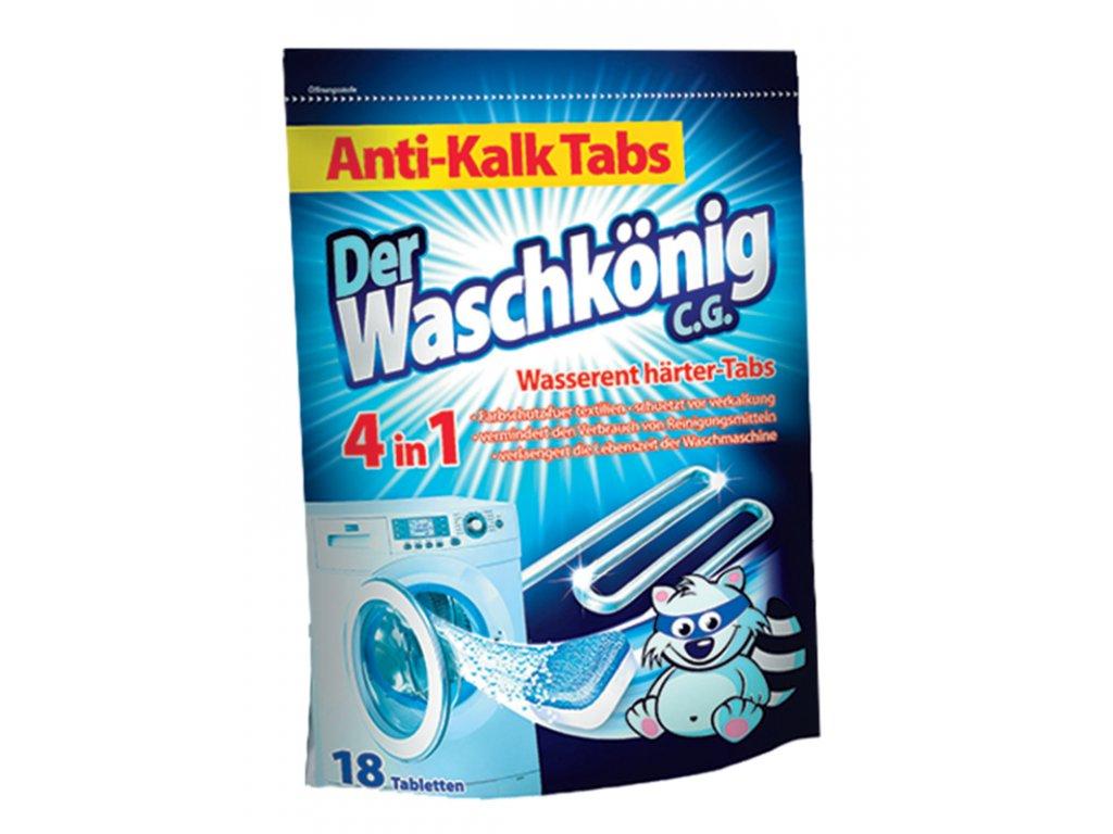 WaschKönig tablety na vodní kámen do pračky 18 tablet.
