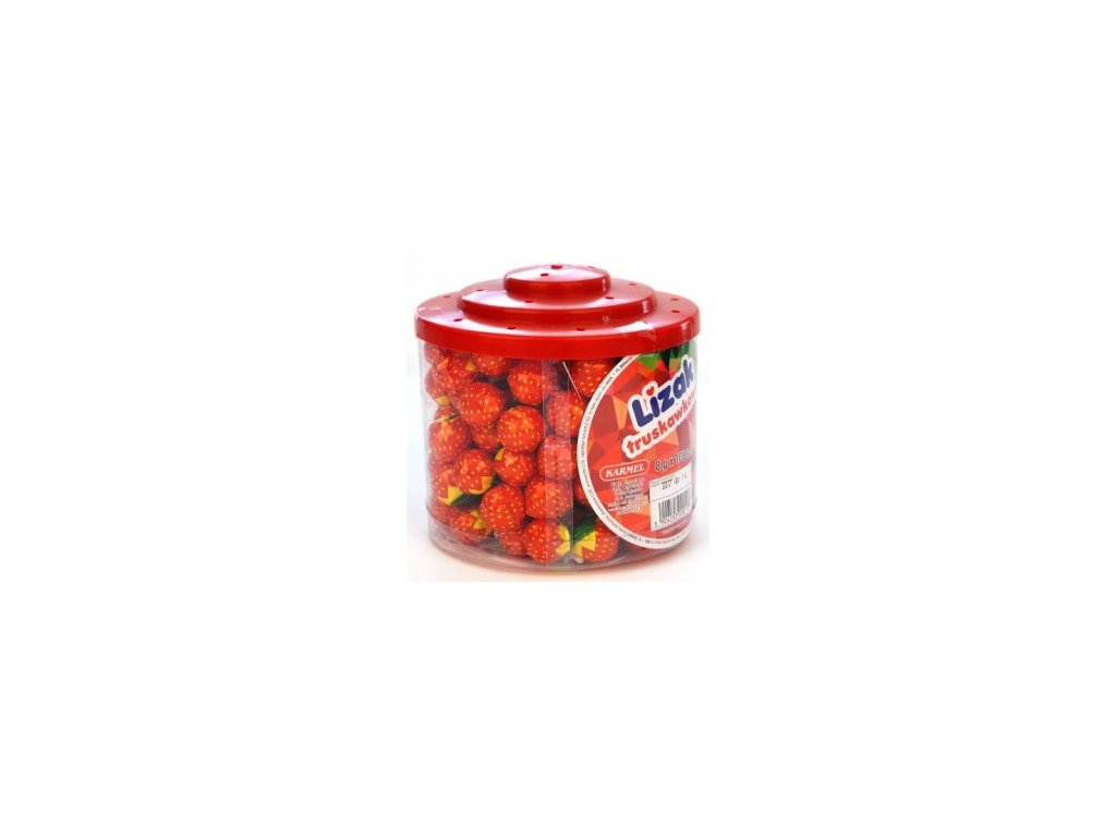 Lizak Fruit Strawberry 8g