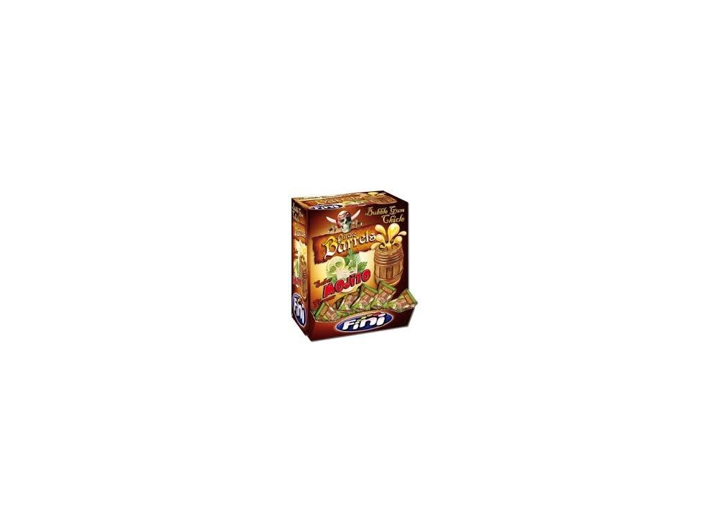FINI Žvýkačky Pirates 5 g BOX 200 žvýkaček