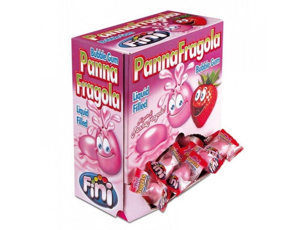 FINI Žvýkačky Panna Fragola 5 g BOX 200 žvýkaček