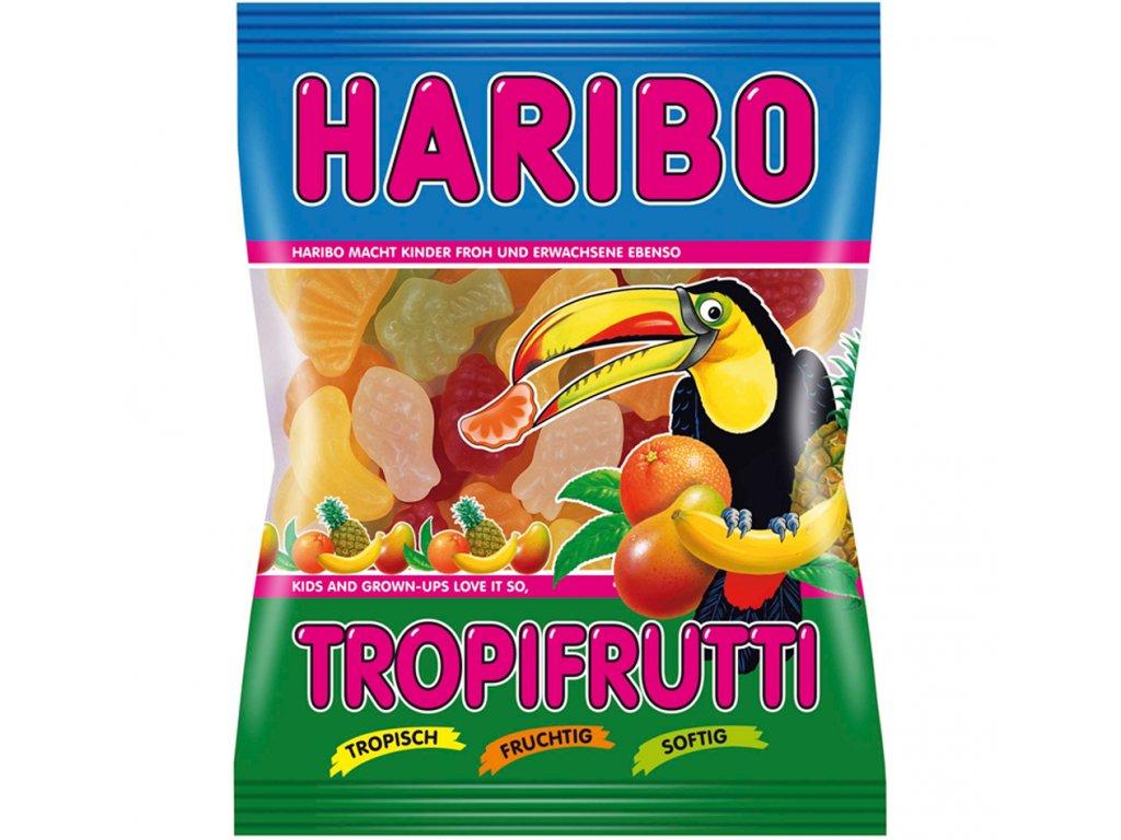 Haribo Tropifrutti želé cukrovinky s ovocnými příchutěmi 100g