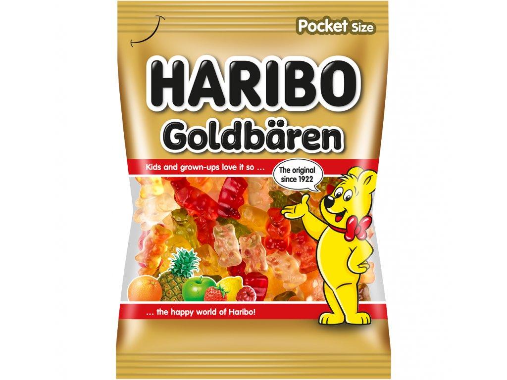 Haribo Goldbären želé s ovocnými příchutěmi 100g