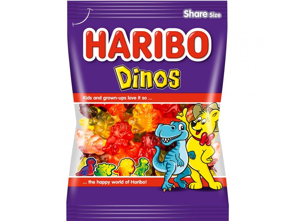 Haribo Dinos želé s ovocnými příchutěmi 100g