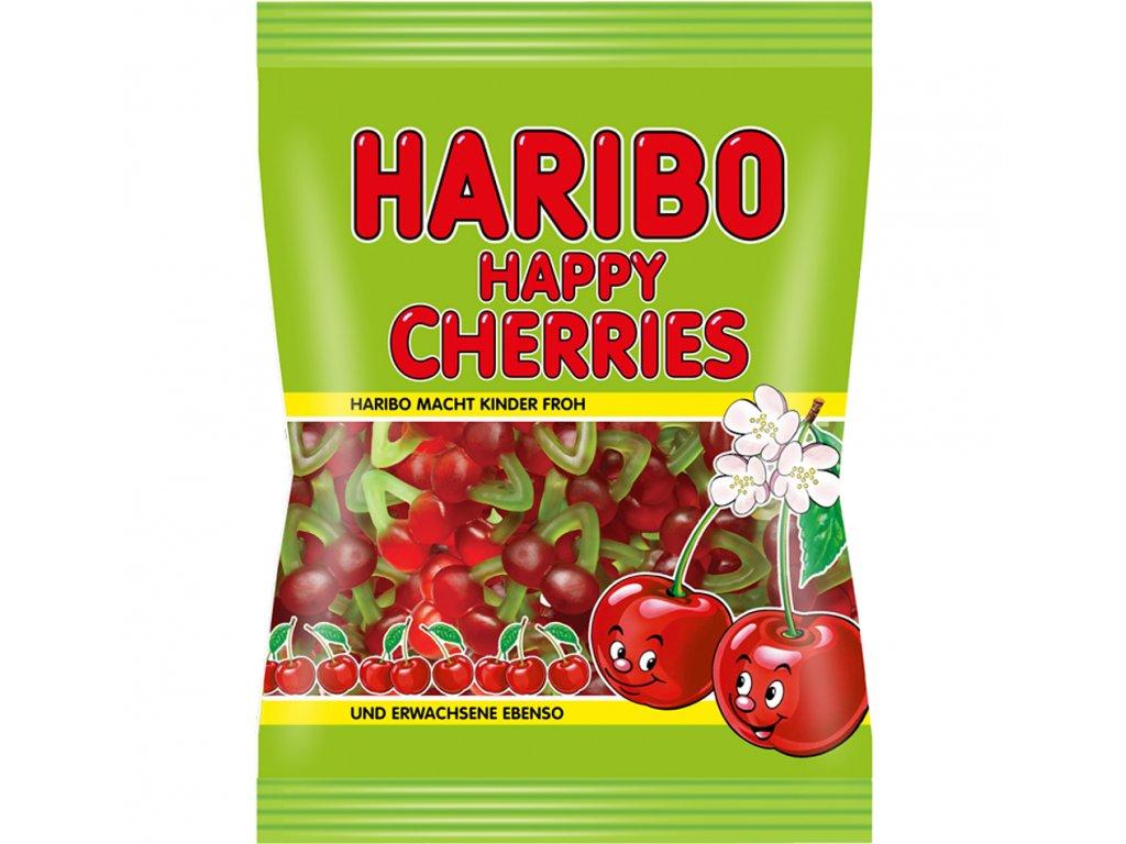 Haribo Happy cherries želé cukrovinky s ovocnými příchutěmi 100g