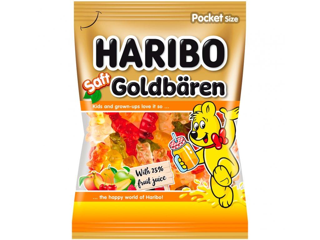 Haribo Saft Goldbären želé s ovocnou šťávou 85g