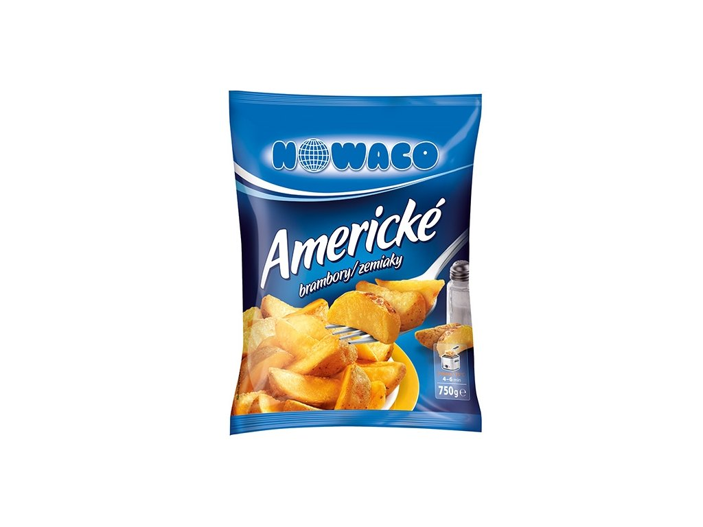 Americké brambory se slupkou Nowaco  750 g
