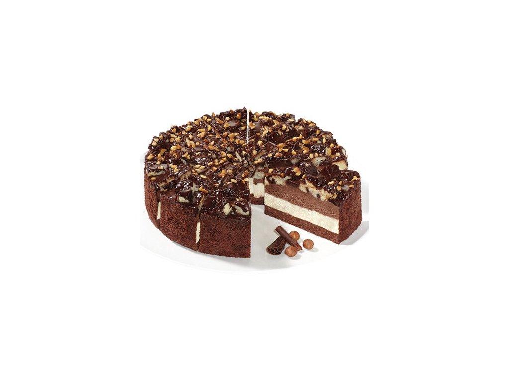 Čokoládový křupavý dort 1600 g