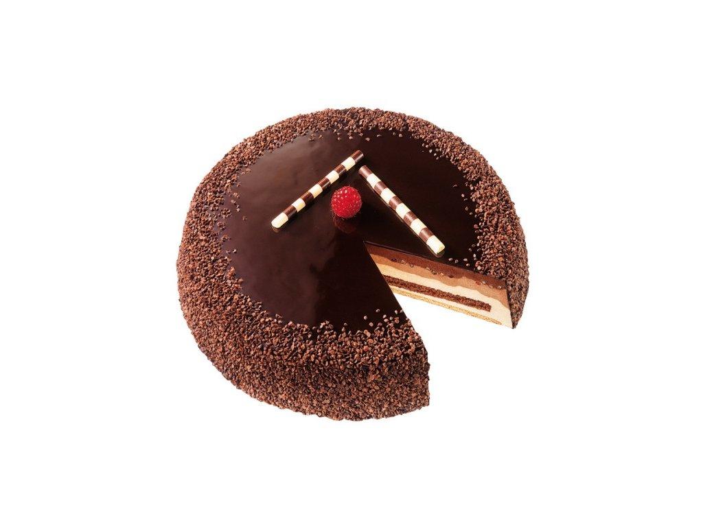 Mousse čokoládový dort  1200 g