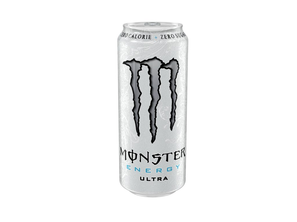 MONSTER 500ml Ultra White