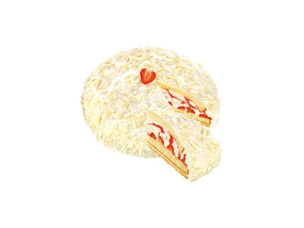 Panna cotta jahodový dort kopule 1500 g