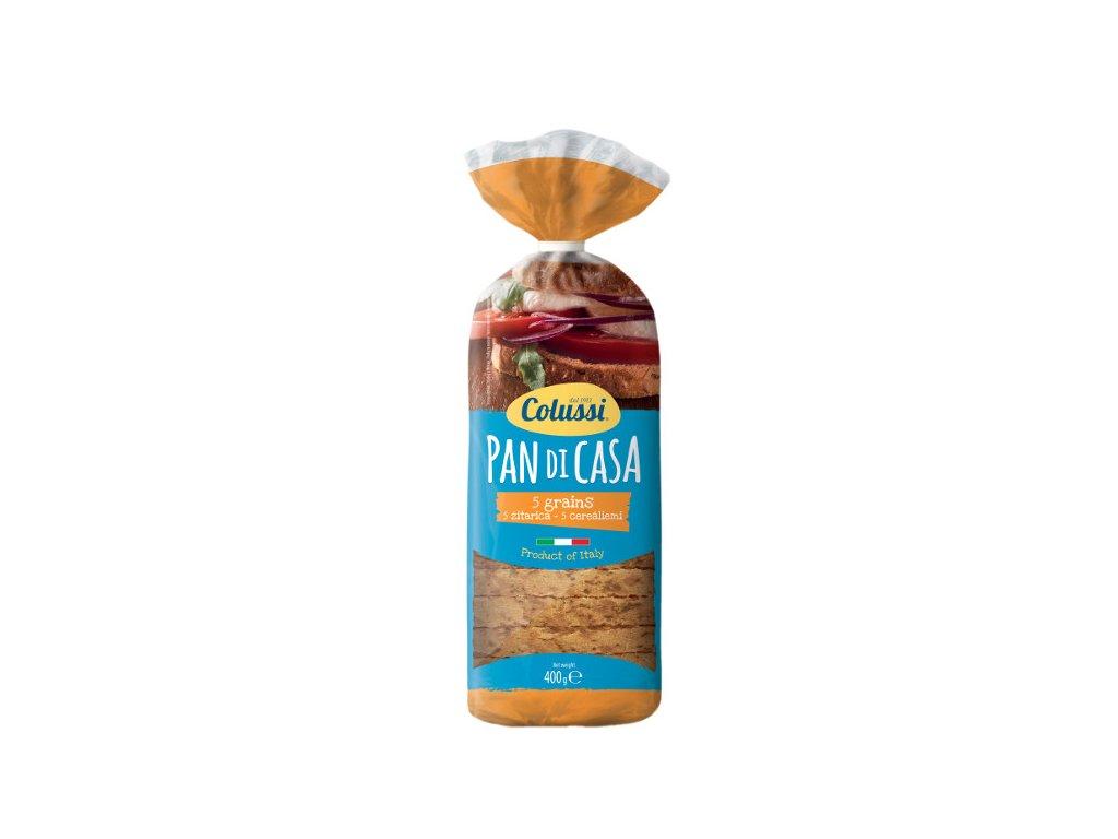 Chléb toustový tmavý cereální 400 g