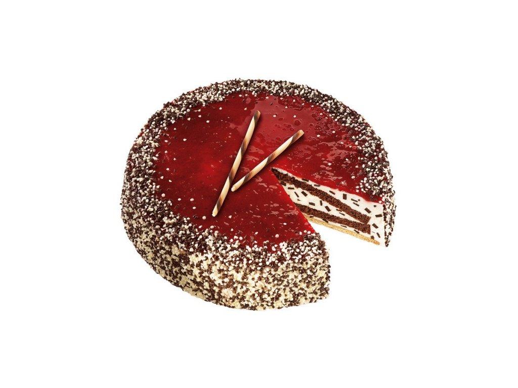Stracciatella višňový dort 1400 g