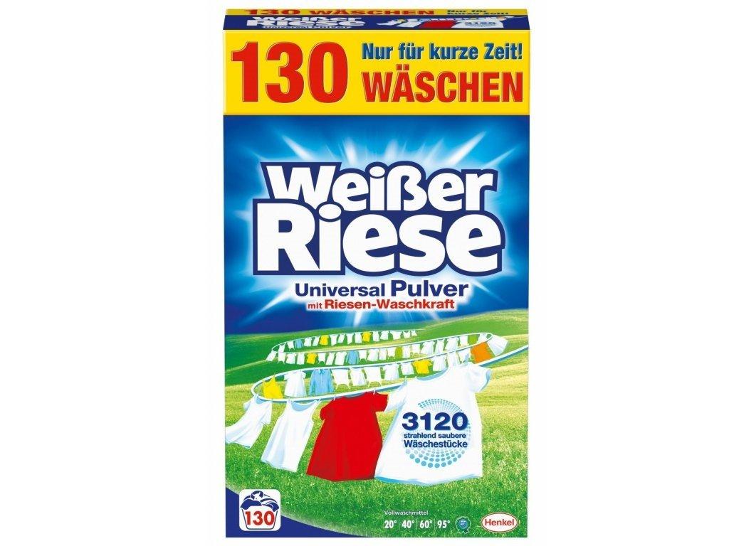 Weisser Riese prací prášek 7,15kg Universal 130 praní