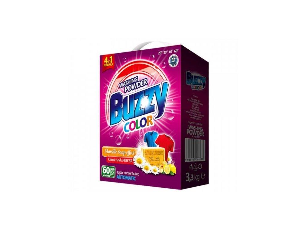 Buzzy prací prášek Color 3,3 kg 60 praní