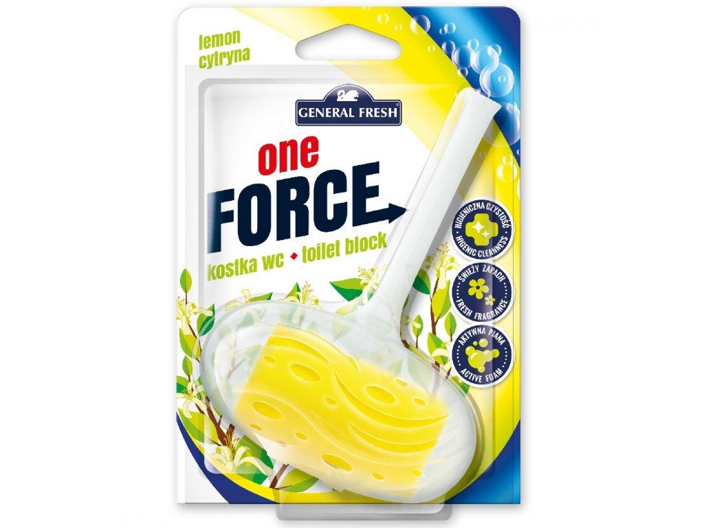 Force One Kostka WC 40g citron