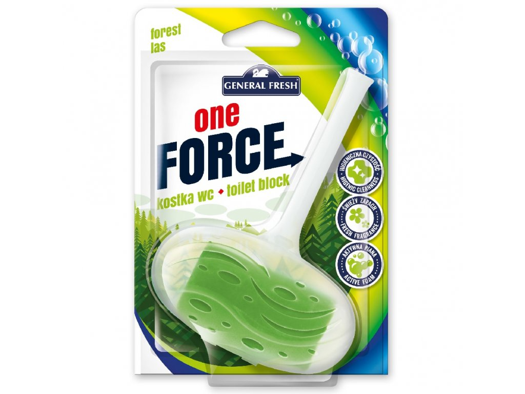Force One Kostka WC 40g les