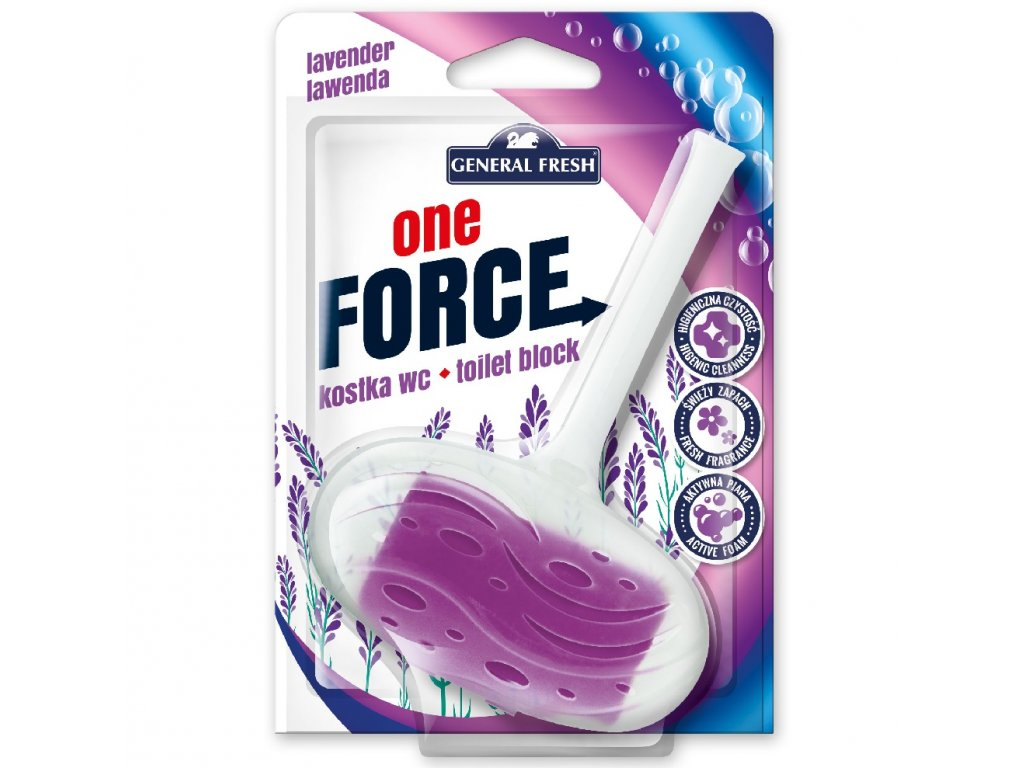 Force One Kostka WC 40g levandule