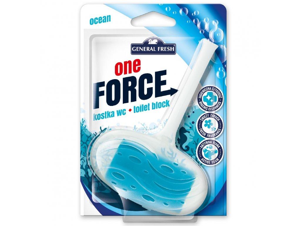 Force One Kostka WC 40g ocean