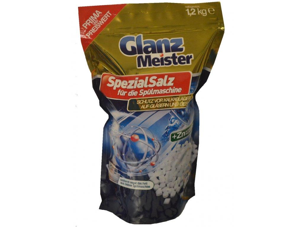 Glanz Meister sůl do myčky + Zinek 1,2kg