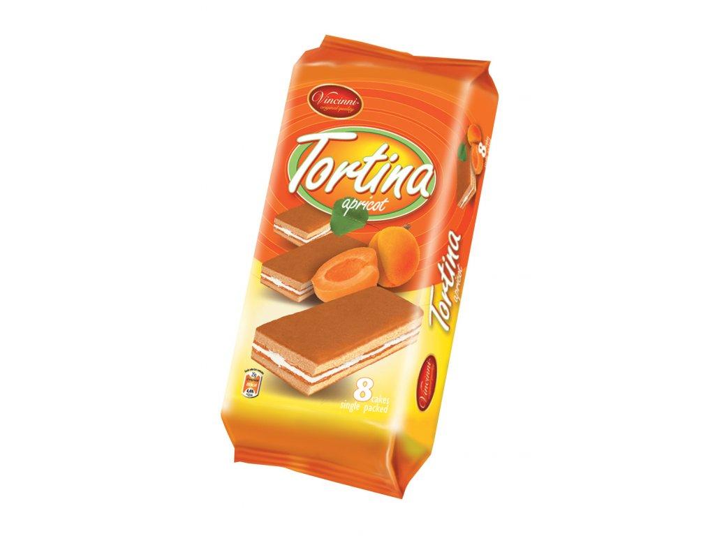Tortina 200g Meruňka