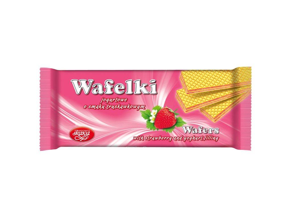 Wafelki 180 gramů Jahodové