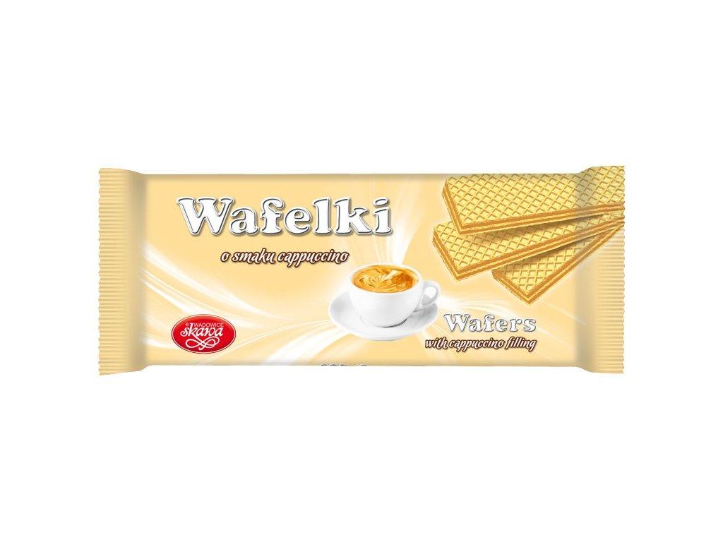 Wafelki 180 gramů Kávové