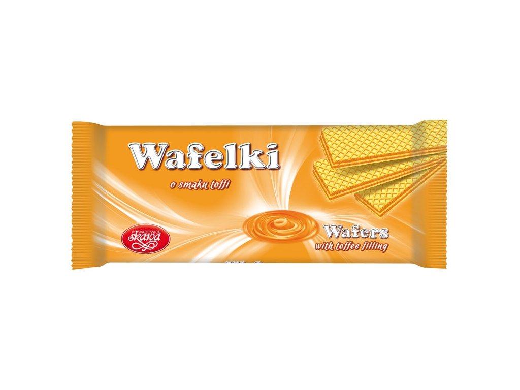 Wafelki 180 gramů Karamelové
